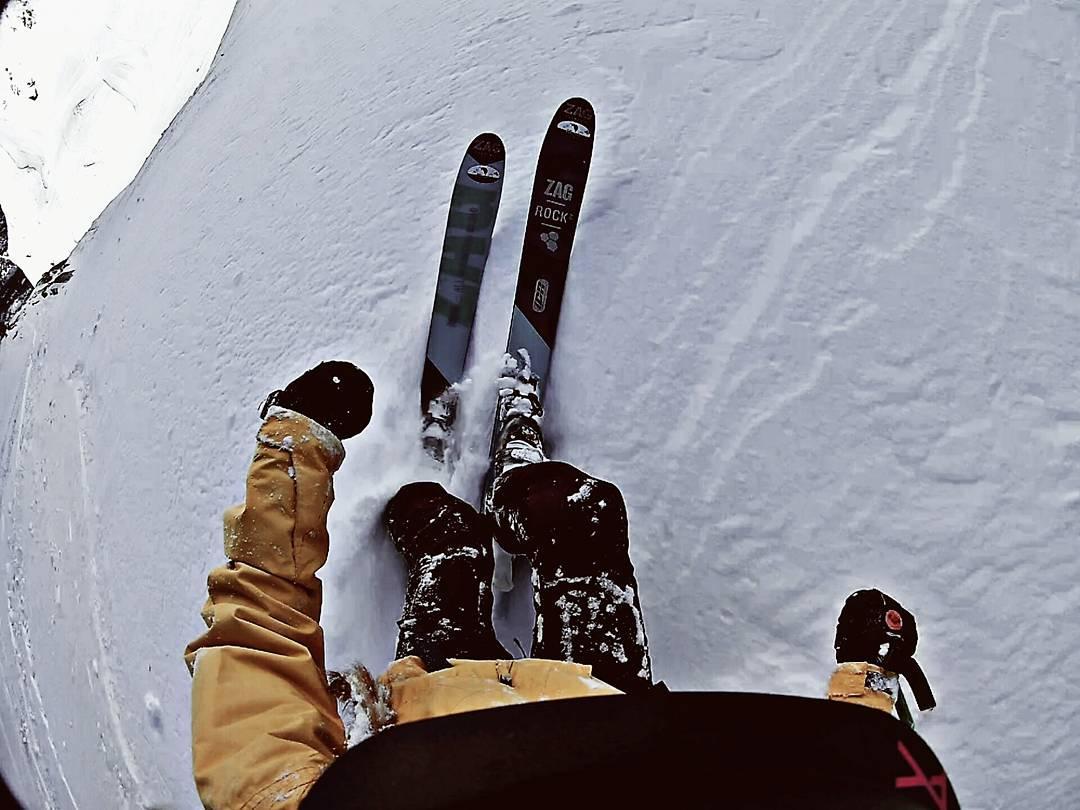 journée de freeride pour le domain skiable de Baqueira.